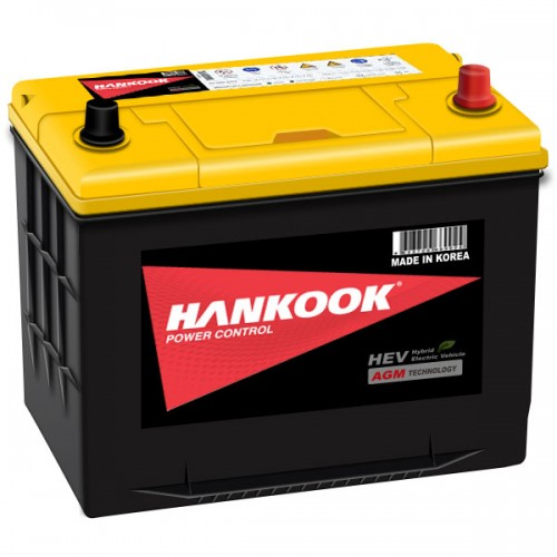Аккумулятор HANKOOK Start-Stop Plus AGM 75Ah 750A D26L